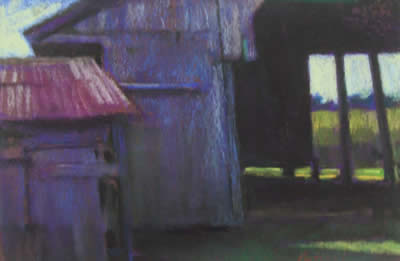 Mary Pritchard pastels at Station Gallery
