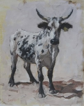 Lynne Lockhart paintings at Station Gallery