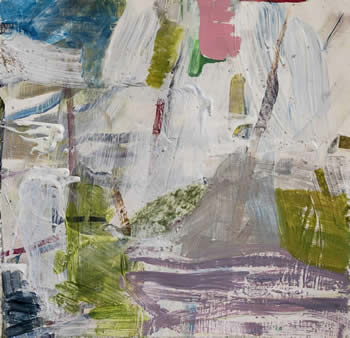 Barbara Straussberg paintings at Station Gallery
