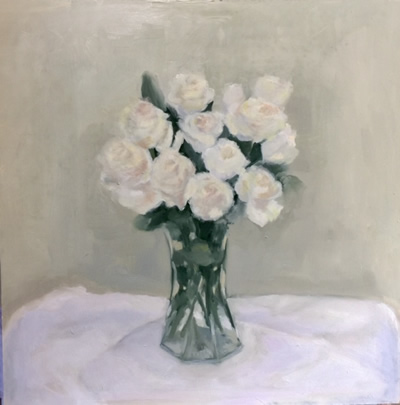 Rosemary Castiglioni paintings at Station Gallery